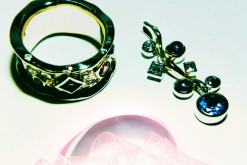 手持ちの色石を指輪とペンダントに